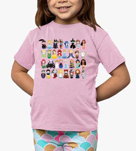Vêtements enfant Kokeshis conte et princesses