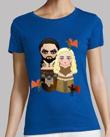 Kokeshis Drogo y Daenerys