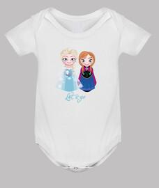 Kokeshis Elsa y Anna