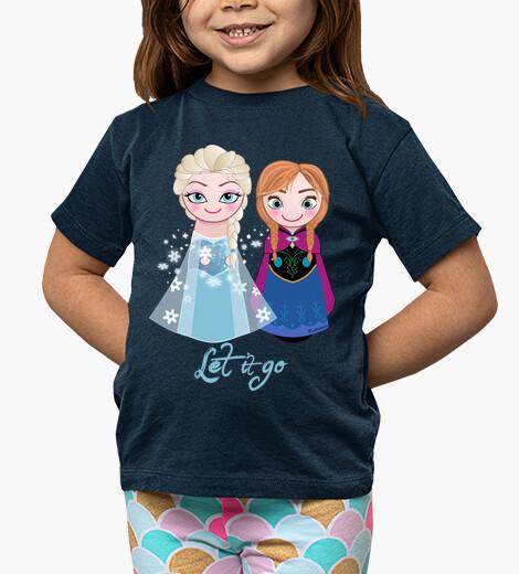 Ropa infantil Kokeshis Elsa y Anna