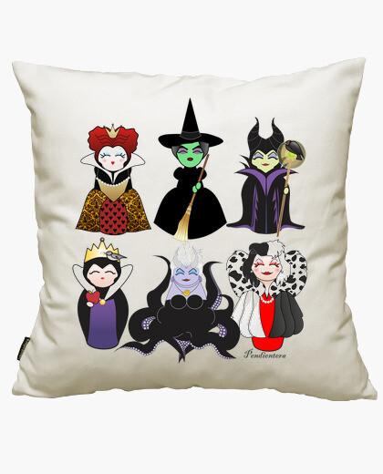 Kokeshis evil tale cushion cover