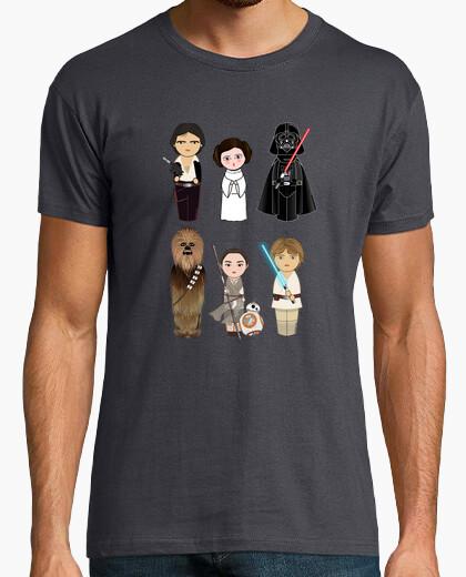 Camiseta Kokeshis Guerra de las galaxias