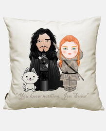kokeshis jon snow and ygritte