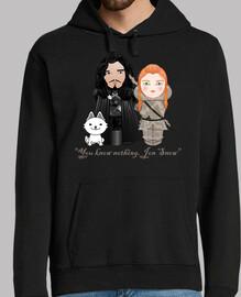 Kokeshis Jon Snow e Ygritte