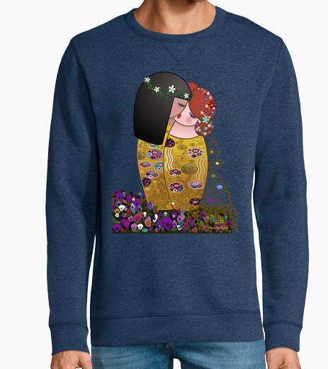 Jersey Kokeshis lesbianas El beso estilo Klimt