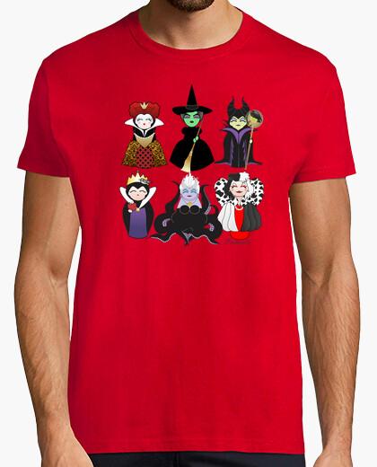 Camiseta Kokeshis malvadas de cuento