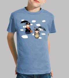 Kokeshis Poppins and Totoro