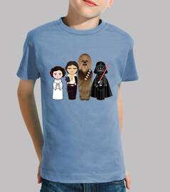 kokeshis Star Wars