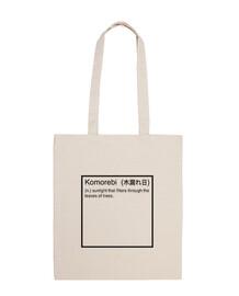 Komorebi definición