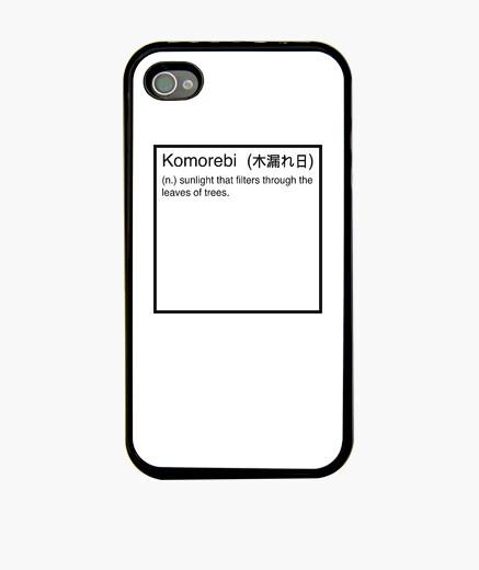 Funda iPhone Komorebi definición