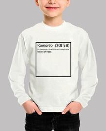 Komorebi définition
