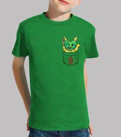 korok del bolsillo - camisa de los niños