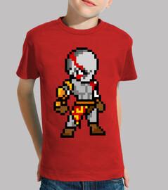 Kratos 8bit (Camiseta Niño)