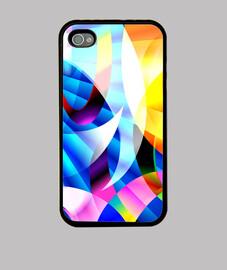 KRAYOLIGHT Arte Abstracto Funda iPhone 4