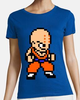 Krillin 8bit (Camiseta Mujer)