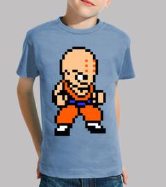Krillin 8bit (Camiseta Niño)