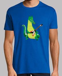 krokodil rock in grün