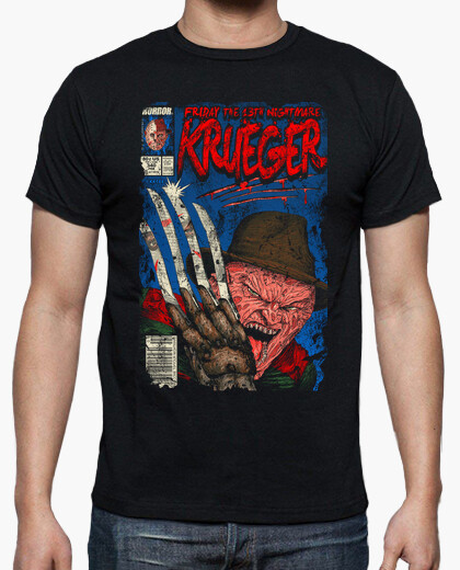 Krueger vs Jason camiseta