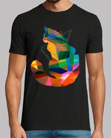 Kubismus Katze