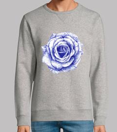 kugelschreiber blaue rose