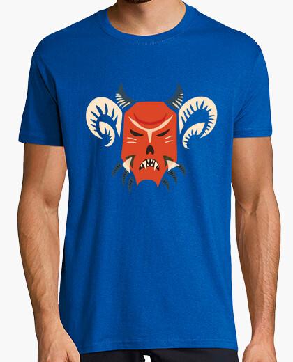 Camiseta kuker máscara de monstruo maligno