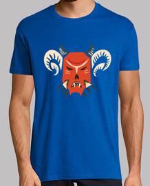 kuker máscara de monstruo maligno