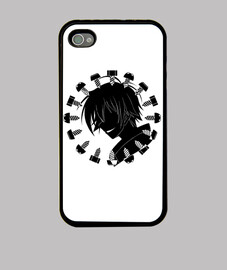 Kumagawa Misogi Black Smile Iphone4 Case
