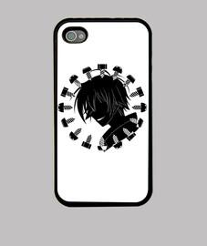 kumagawa misogi nero smile iphone4 cover