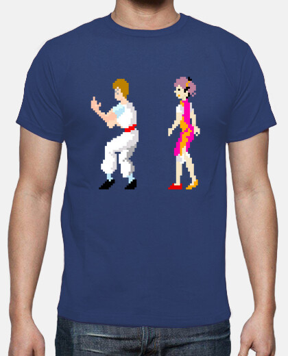 Camisetas kung fu master - together