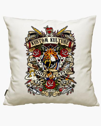 Kustom kulture eagle cushion cover