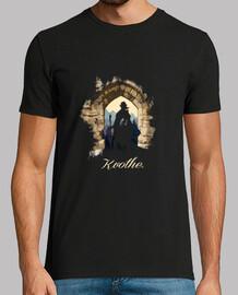 Kvothe camiseta negra