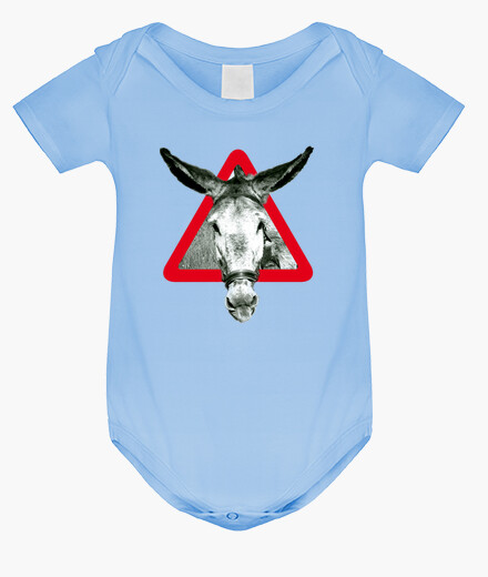 Vêtements enfant l' âne est un âne par têtu