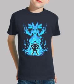 l'aura dentro - maglietta per bambini
