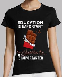 L39éducation est importante - mais le c