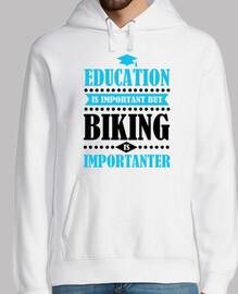 l39istruzione è importante ma in bicicl