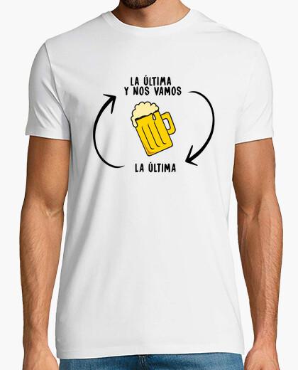 T-shirt l39ultima birra