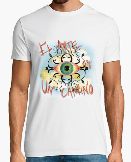 Tee-shirt l' art est un chemin