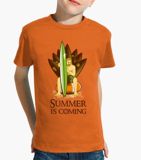 Vêtements enfant l' été est à coming # 2