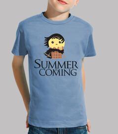 l' été est à coming