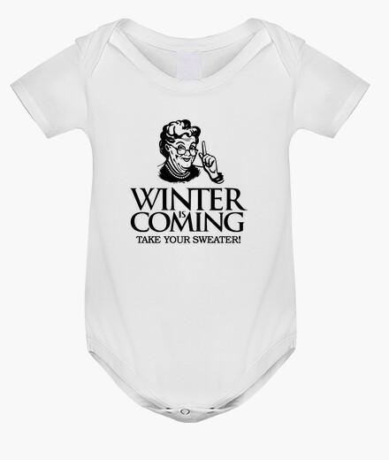 Vêtements enfant l' hiver à coming