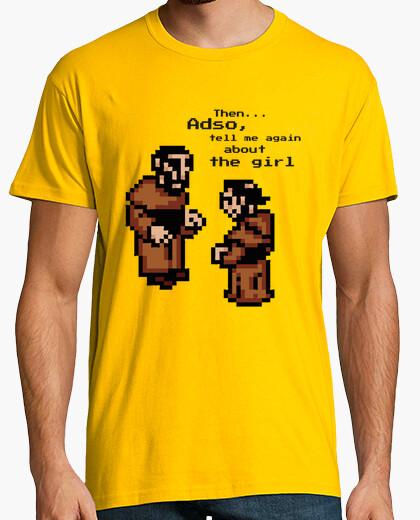 Camiseta La abadía del crimen