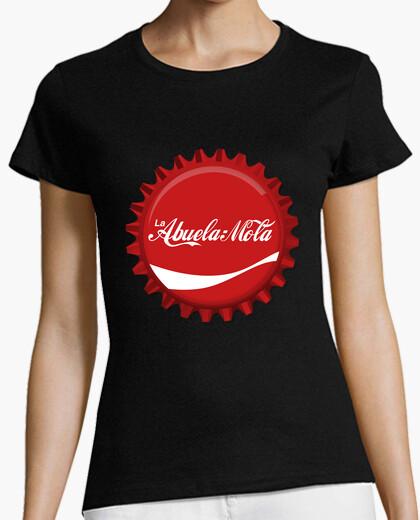 Camiseta La Abuela Mola (Logo CocaCola) Chapa