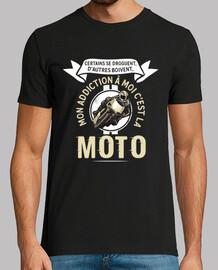 la adicción humor del motorista de la motocicleta