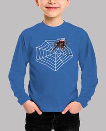 La Araña Roja camiseta niño
