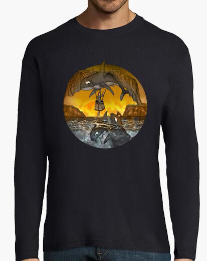 Tee-shirt la baleine volante 02