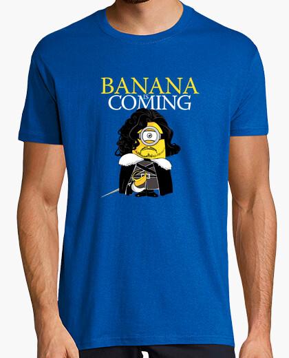 Tee-shirt la banane est à venir!
