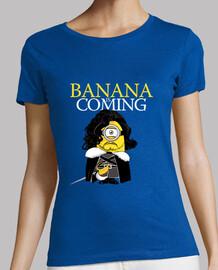 la banane est à venir!