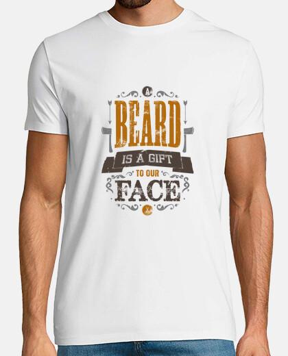 la barba es un regalo para nuestro hombre camisa cara