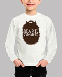 la barba sta arrivando