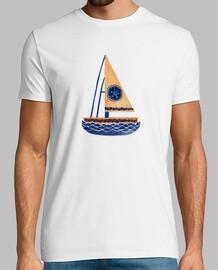 la barca a vela tribale